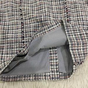 J. Crew Skirts - J. Crew blue plaid pencil skirt